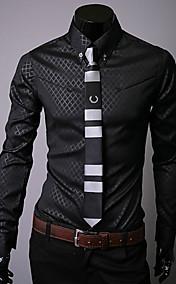 Cool Obscure Diamond Lattice Slim Shirt