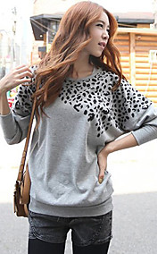 Women's Leopard Long Sleeve T-Shirt