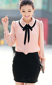 Women's Doll Collar Cute Slim Shirt