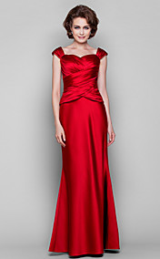 Trumpet/Mermaid Sweetheart Floor-length Satin Mother of the Bride Dress