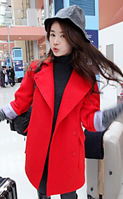 Women's Loose Elegant Woolen Coat