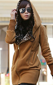 Women'S Hoodie Coat Sweatshirt Jacket