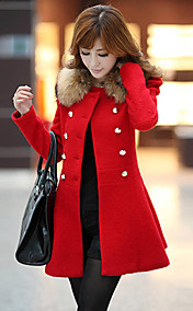 Women's Fashion Winter Blends Long Winter Outerwear