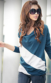 Women's Cowl Color Block T-Shirt