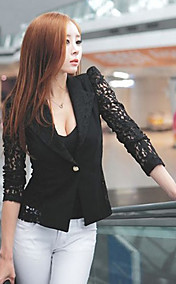Women's Lace Splicing Blazer