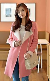 Women's Lapel Collar Coat