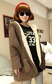 Women'S Loose Batwing Sleeve Coat