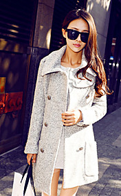 Women's Fashion Woolen Coat