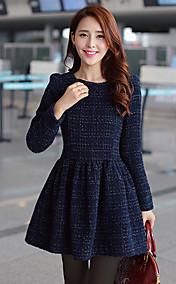 Women's Elegant Long Sleeve Dress