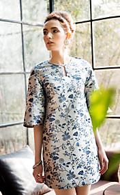 TS Vintage Flare Sleeve Dress