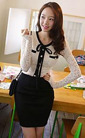 Women's Sweet Lace Slim Dress