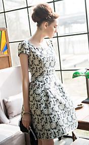 TS Vintage Narrow Waist Skater Dress