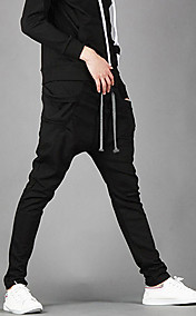 Men's Regular Fit Sports Harem Pants Bag Jogging Trousers