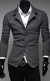 Men's Fashion Blazer Jacket Casual Suit Coat