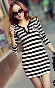 Women's Stripe Bodycon Dress