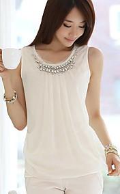 Women's Spring Elegant Diamond Chiffon Vest