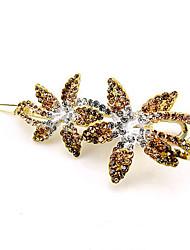 Bergkristal Licht Metaal Helm-Bruiloft Speciale gelegenheden Haarclip