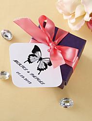 Personalizované náměstí tagy - Classic Butterfly (sada 36)