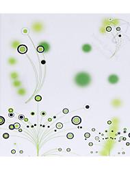קונוסים תבנית עיגול ירוק אישית נייר הכותרת - סט 12