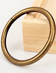 טבעת קליפ וילון מוצק סגנון רטרו - 2pcs (קוטר 3.8cm)