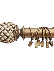 Stylový Gold Solid Roma Style Clip Ring - 10ks (průměr 3,7 cm)
