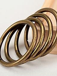 Retro Style Solid Curtain Clip Ring - 2pcs (Diameter 3.2cm)