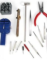 סט מקצועי של 16 ערכות כלי לתיקון שעון