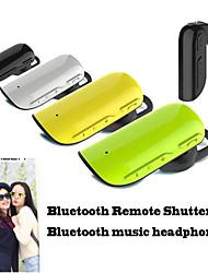 sport stereo Bluetooth-hovedtelefoner med mikrofon bluetooth fjernbetjening lukker for iPhone 6 / iPhone 6 plus telefoner (assorteret farve)