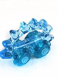 גומי בסגנון מכונית + פלסטיק ידני לעיסוי - כחול
