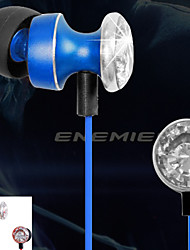 Æble I-Øre - Høretelefoner (Earbuds, I-Øret) ( Alt-i-En/Mikrofon/mp3/Resonans/Ørestykker/Lyd-annulerende ) - Tilkoblet