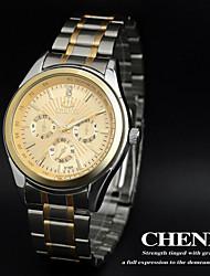 CHENXI® Men's Elegant Design Dress Watch Japanese Quartz Water Resistant Steel Strap Cool Watch Unique Watch