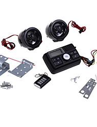 motorcykel motorcykel ljudsystem mp3 högtalarförstärkare fm / sd / mmc svart