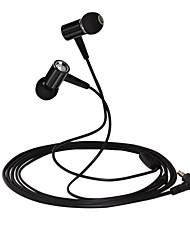 huast premium høretelefoner med microfon stereo hovedtelefoner metal hovedtelefoner til iPone / ipod / lg / Sony smart telefon mp3