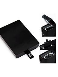 Disco rígido de 120GB de disco no disco rígido interno para o Microsoft Xbox 360 Slim&Console Xbox 360 e jogos