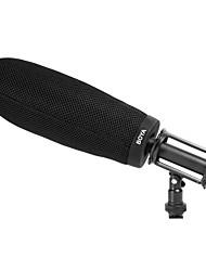 by-t240 dentro de profundidade 240 milímetros pára-brisa profissional para microfones shotgun shure vp89 by-pvm1000l akgck98 AT8035 sgm-2x