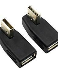 cy® samice USB 2.0 na mužské USB adaptér pro AUX (2 ks)