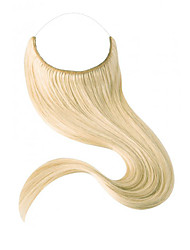 16-22 inch Remy 100% Human Hair Hidden invisible wire  handmade human hair extension 80gram(25cm width)