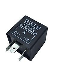 Bil Motorcykel 12V Elektronisk LED Relä Fix Indikator Blinker Flasher