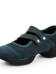 Non Customizable Women's Dance Shoes Canvas Canvas Latin Sneakers Low Heel Practice / Indoor / Outdoor