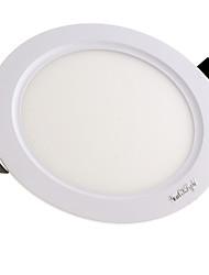 YouOKLight NEW 7W 650lm  35-SMD White/Warm White LED Light Round Panel Light (AC 85~265V)