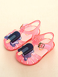 Boys' Shoes Casual PVC Sandals Summer Sandals / Round Toe Others Blue / Yellow / Pink / White