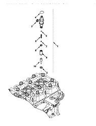 chongqing Cummins motor utrustad med Cummins injektor 3932123