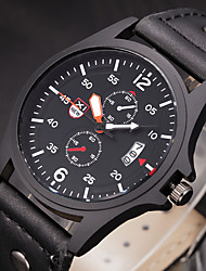 XINEW Vintage Classic Date Leather Casual Men Women Watches Quartz Analog Clock Wrist Montre Homme Relogio