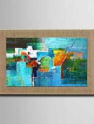Ručně malované Abstraktní / Krajina / Zátiší / Fantazie olejomalby,Moderní / evropský styl Jeden panel Plátno Hang-malované olejomalbaFor