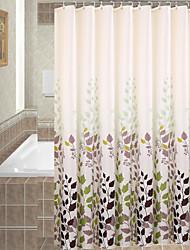 Contemporânea Poliéster 120*180cm ( L x W )  -  Alta qualidade Cortinas de Banheiro