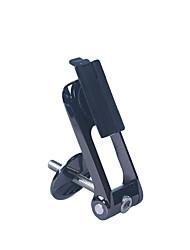 אופניים מתקן לאופניים רכיבה על אופניים טלפון סלולרי שחור פלסטיק 1-/