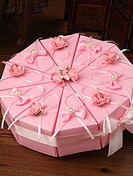 10 Stück / Set Geschenke Halter-Zylinder Kartonpapier Geschenkboxen Nicht personalisiert