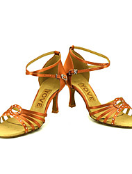 Sapatos de Dança(Outro) -Feminino-Personalizável-Latina / Salsa