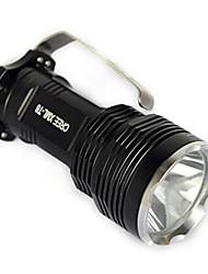Osvětlení LED svítilny / Světla na kolo / Lucerny a stanová světla / bezpečnostní světla LED 2500 Lumenů 1 Režim Cree XM-L T6 18650