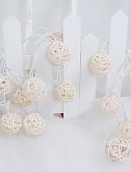 מחרוזת אור חדשה הוביל chinlon של בעל 10lamp סדרת מנורת נוף גן החג